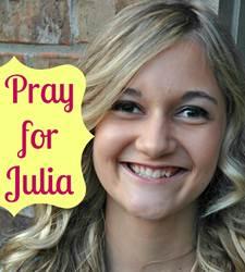 Pray for julia
