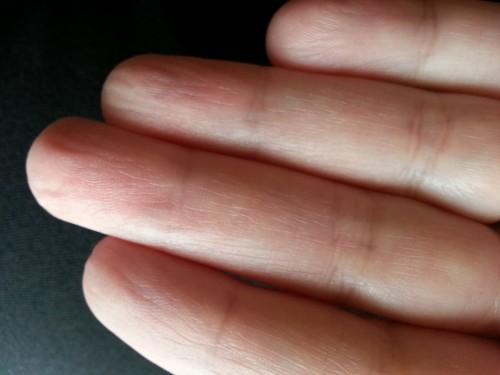 handling fingerprints