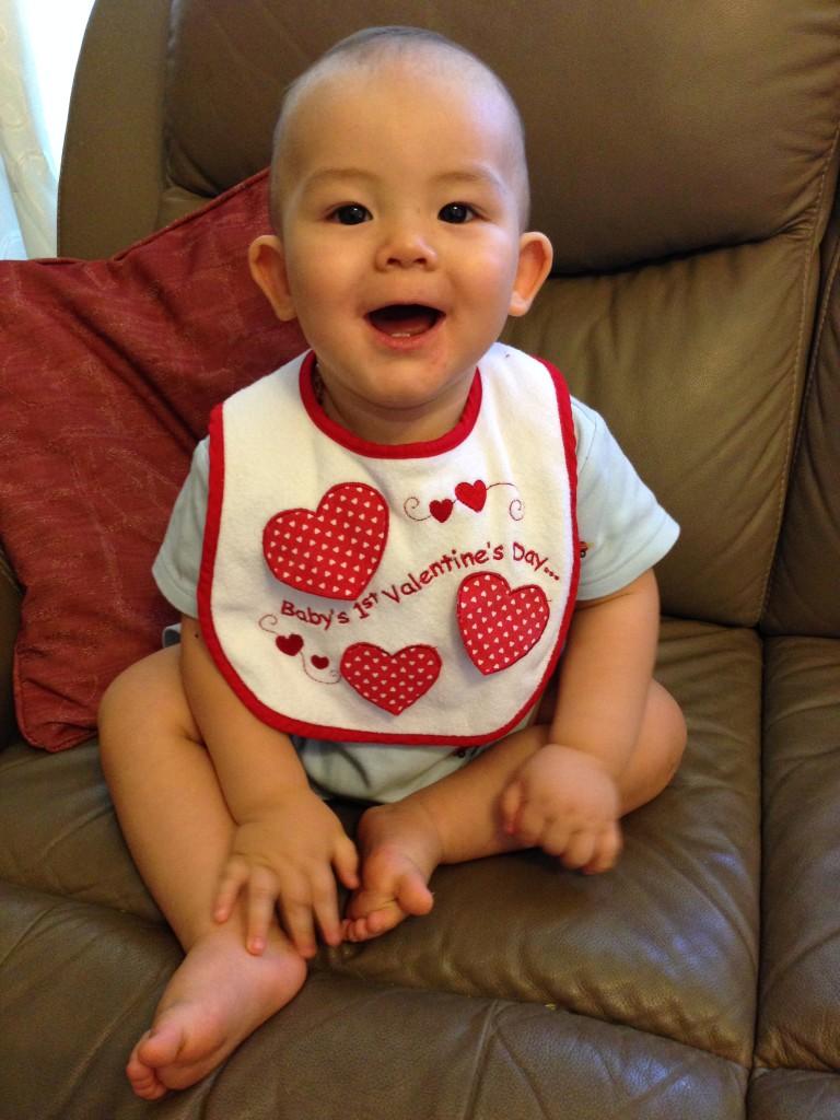 My sweet little Valentine!