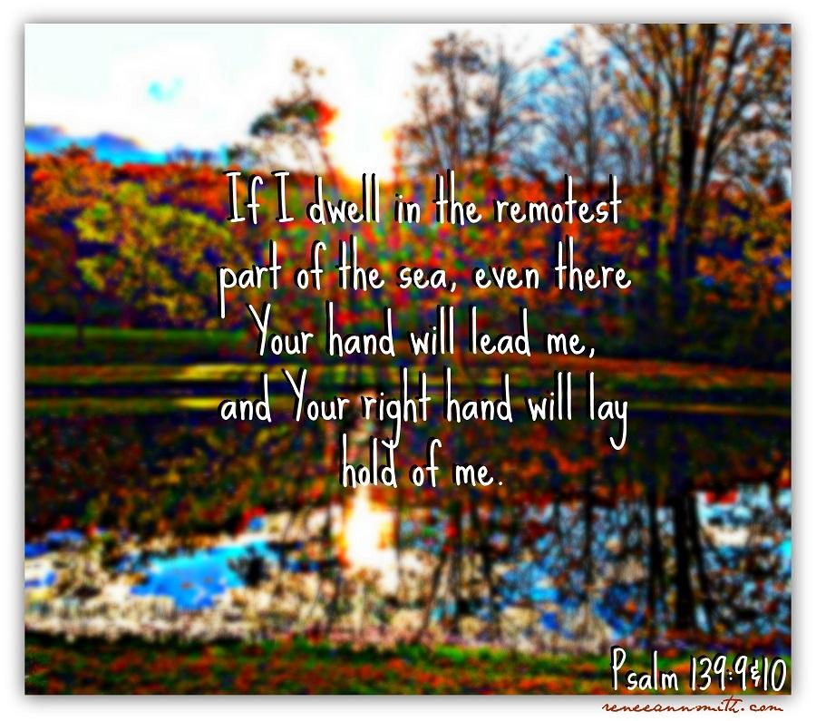 Psalm 139 scripture graphic