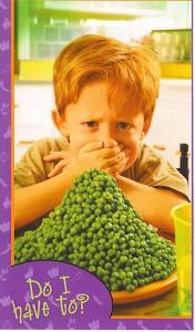 boy & peas