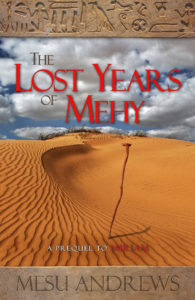 The Lost Years of Mehy cover
